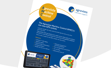 Agrovista Machine Control Information Sheet