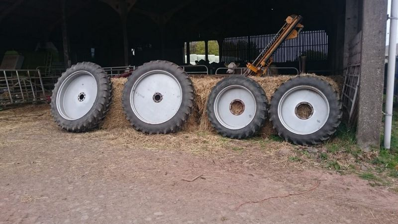 Tractor Row Crop Wheels